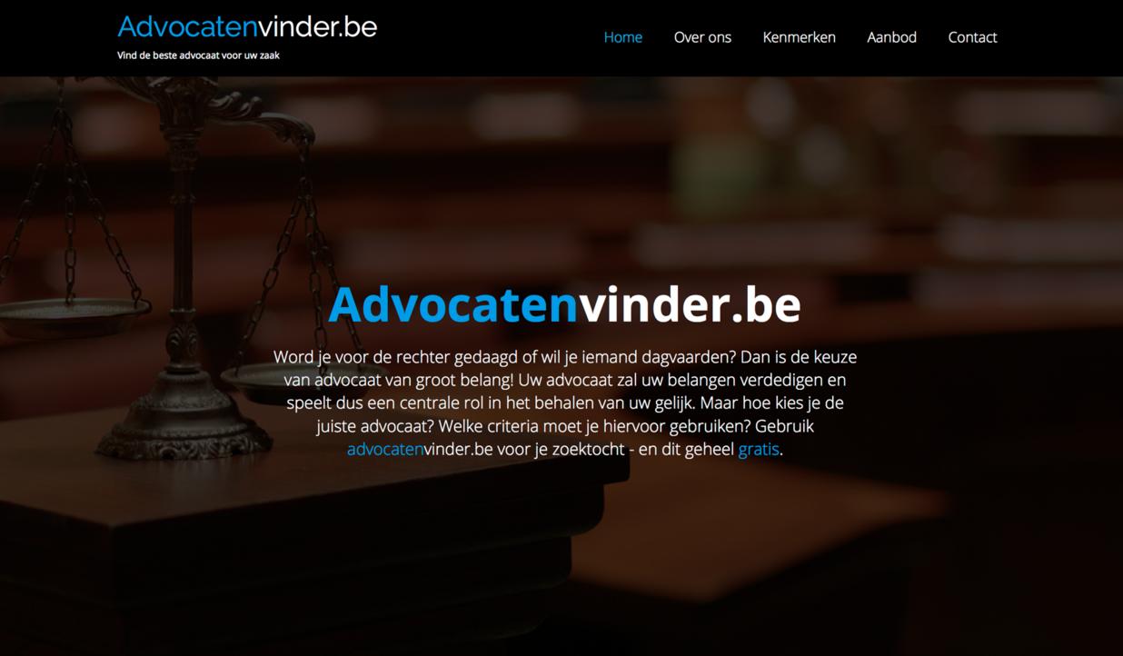 Advocatenvinder